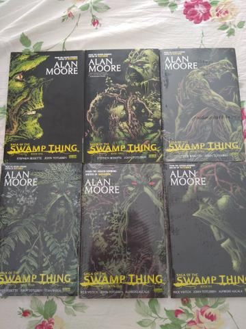 Saga of the Swamp Thing 1-6 - Alan Moore - Vertigo - DC