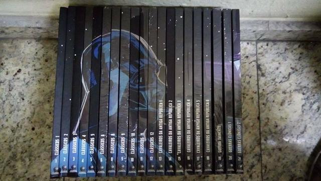 Coleção Comics Star Wars De Edição  (R$  o