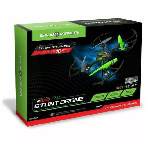 Drone Stunt X-quad Sghz Longo Alcance