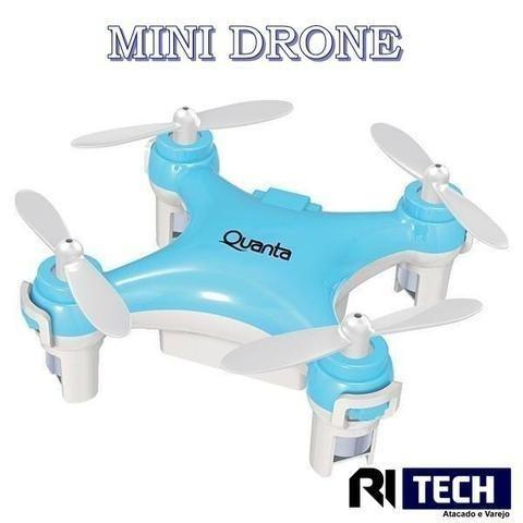 Mini drone com controle - giro 360° - Produto novo