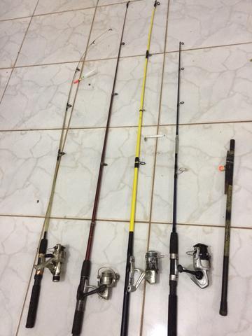 Molinetes kit pesca