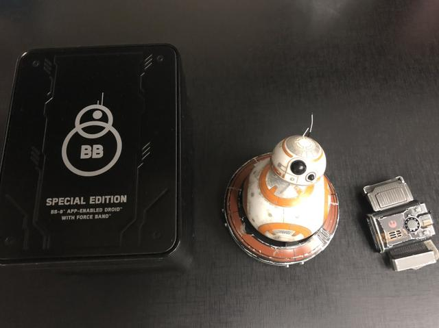 Robô Bb8 Sphero Droid - Star Wars - Special Edition - Force