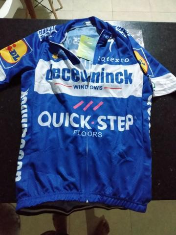 Vendo camisa de ciclismo (bike) nova