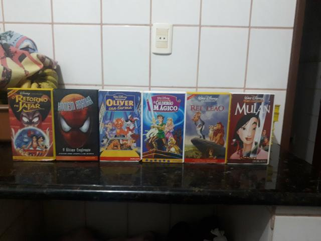 Coleção de filmes VHS