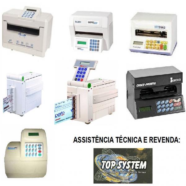 Assistencia tecnica de impressora de cheque em sao paulo
