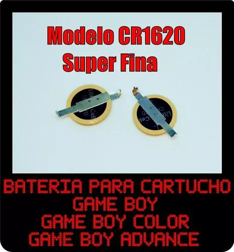 Bateria Cartucho Game Boy Color E Game Boy Advance Gbc Gba