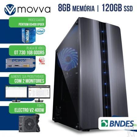 COMPUTADOR PENTIUM GGHZ 8ª GER. MEM. 8GB SSD 120GB