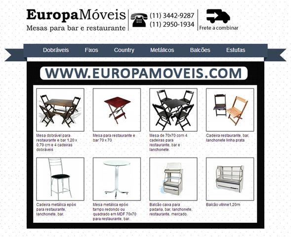 Comprar Mesas para Restaurante | Comprar Mesas para Bar |