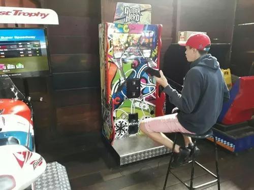 Fliperama Arcade Máquina De Dança E Guitarra