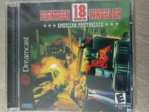 Jogo De Dreamcast 18 Eighteen Wheeler (Patch)