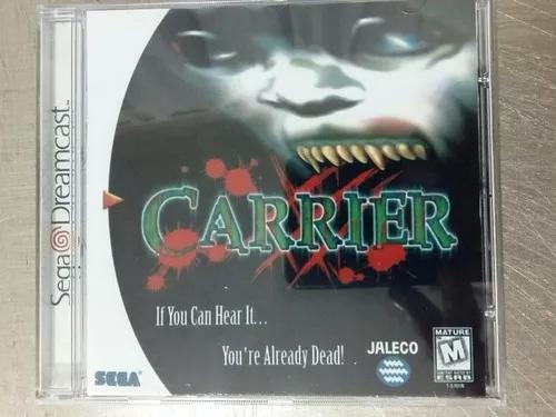 Jogo De Dreamcast Carrier (Patch)