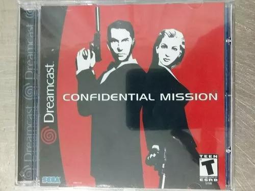 Jogo De Dreamcast Confidential Mission (Patch)