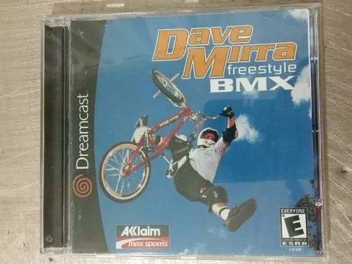 Jogo De Dreamcast Dave Mirra Bmx (Patch)