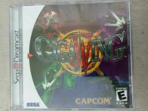Jogo De Dreamcast Giga Wing (Patch)