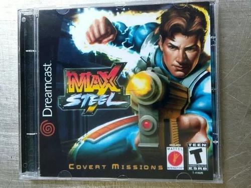 Jogo De Dreamcast Max Steel (Patch)