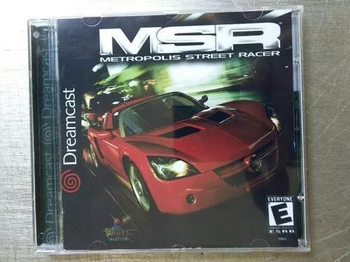 Jogo De Dreamcast Metrópolis Street Racer (Patch)