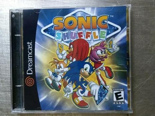 Jogo De Dreamcast Sonic Shuffle (Patch)