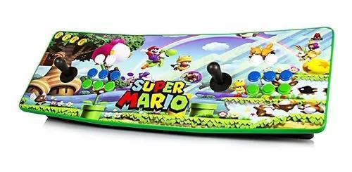 Maquina Fliperama Arcade Super Mario Bross Portátil