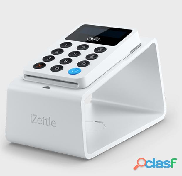 "Máquina de cartão de Débito e Crédito é ""IZettle""."