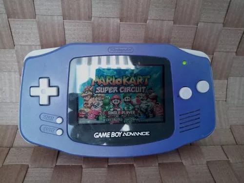 Nintendo Game Boy Advance Gba Console + Mario Kart Original