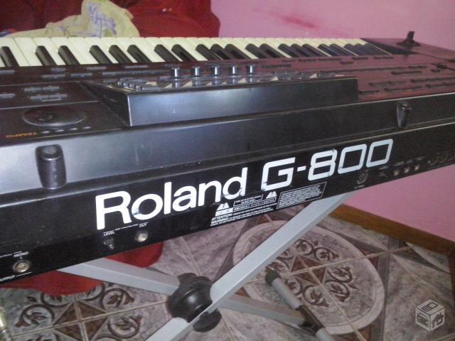 Teclado Roland G800 Usb Ou Troco Por Sintetizador