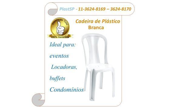 Vendo Cadeira Plástica Direto da Fábrica