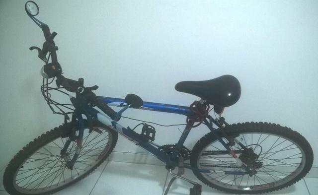 Bicicleta ou Bike Houston Enterprise cor azul com vários