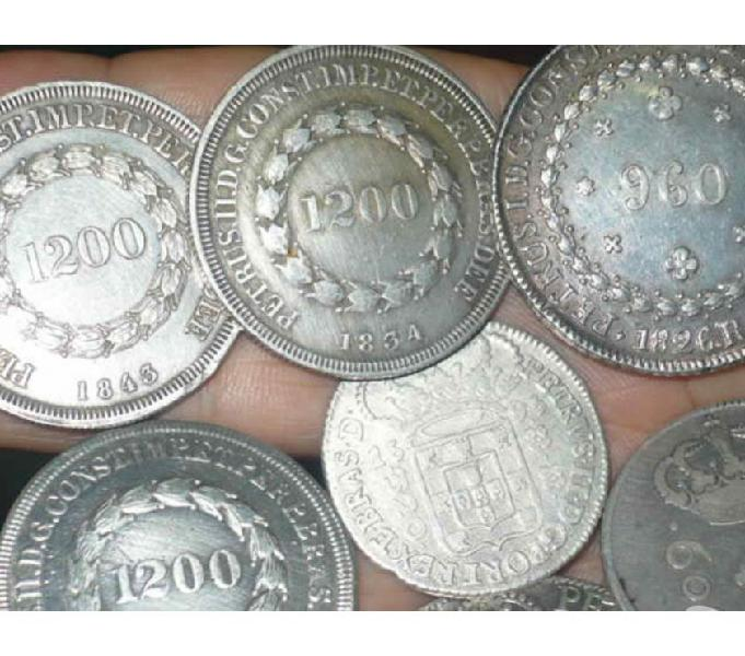 COMPRO MOEDAS ANTERIORES A 1913 PAGO R$20,00 CADA PREMIUM