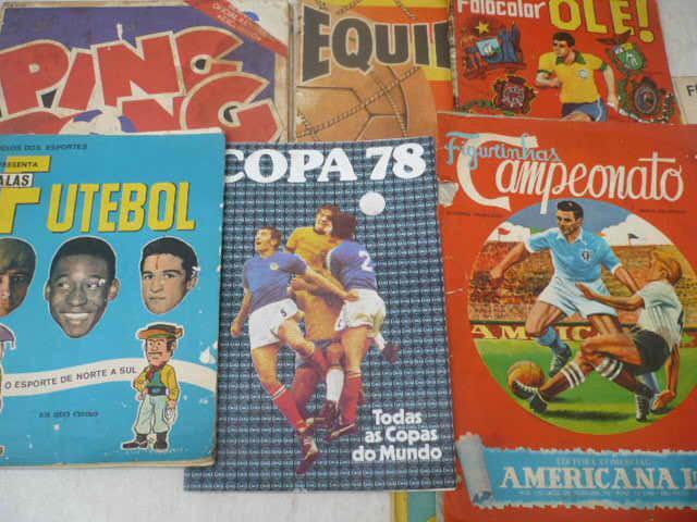 Compro/ Coleciono Álbuns De Fig. De Futebol Entre 1.920 A
