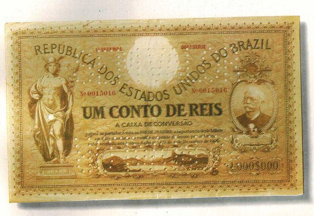 Compro Notas Ou Cédulas de Réis E de Cruzeiros-pago Bem E