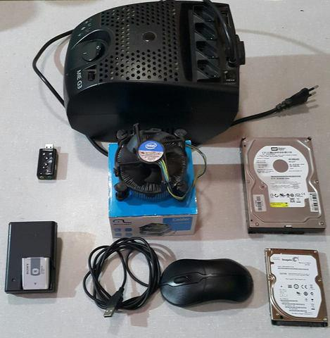 Hd de Notebook e PC - Modulo Isolador - Mouse Dell -