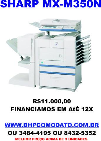 Impressora A3 Copiadora Multifuncional Sharp - Belo