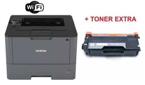 Impressora Brother Hl-l5202dw + Toner Extra 12k Nota Fiscal