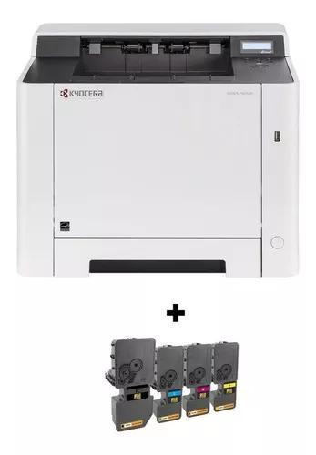Impressora Kyocera Ecosys Color P5021cdn + Kit Toner Extra