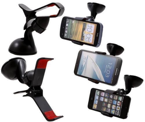 Prendedor Veicular Smartphone Mp4 Gps De Gancho