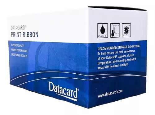 Ribbon Datacard Preto Sd260/sd360/sp35 532000-053 (1500) *