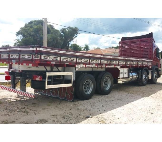 Scania P 310 8X2 Opticruisert Bitruck Graneleiro Ano 16