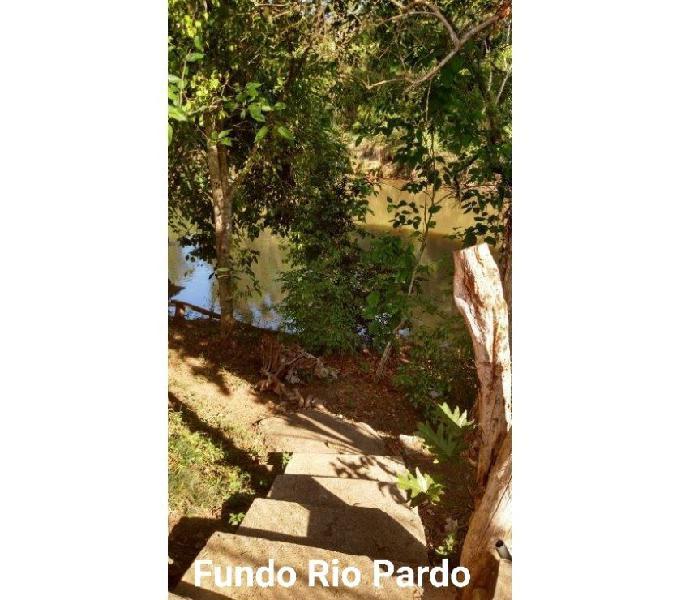 Vendo Chácara na Beira do Rio Pardo. R$230.000,00