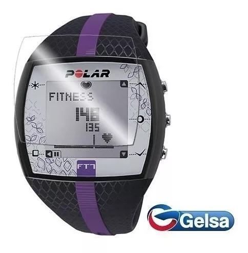 2 X Pelicula Filme Protetora Relógio Smartwatch Polar Ft7