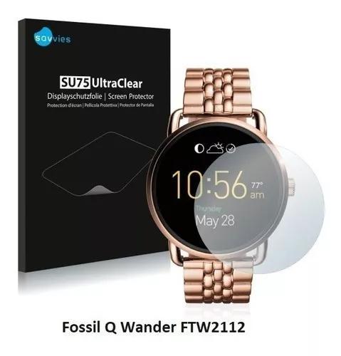 2x Películas Savvies® Fossil Q Wander Ftw2112