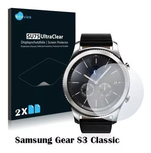 2x Peliculas Savvies® Para Samsung Gear S3 Classic