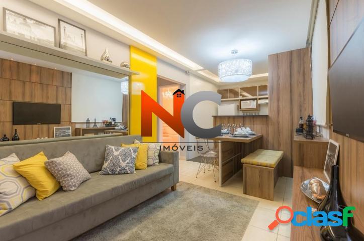 Apartamento com 2 dorms, Vista Alegre, São Gonçalo - R$