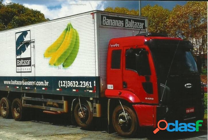 Caminhão Ford/Cargo 2428 - troca por casa, sitio ou vende.