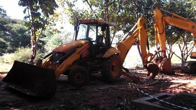 JCB, 3C 4x2, série 1395798, ano 2009, Retro-Escavadeira,