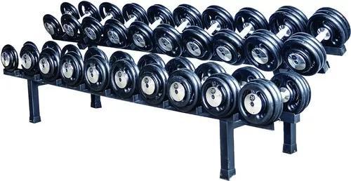 Menor Preço Kit Dumbells Pintados 12 Kg A 30 Kg + Suporte