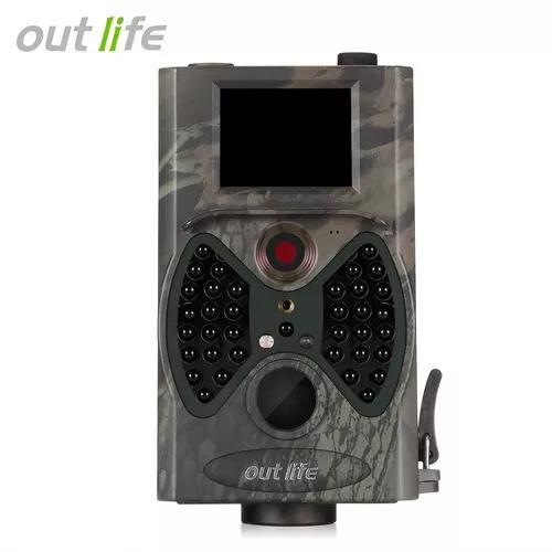 Outlife Hc - 300a Hd 1080p 12 Mp Trilha Câmera Vídeo