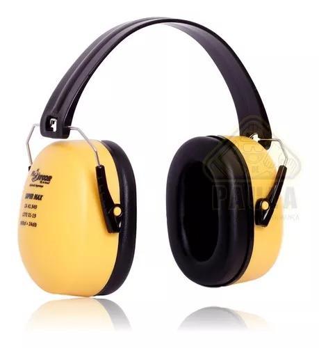 Protetor Ouvido Abafador Ruídos Tipo Concha Super Max 24db