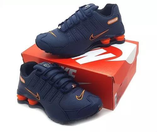 Tenis Nike Shox Nz 4 Molas Acad