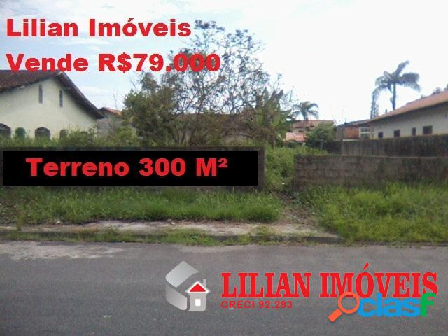 Terreno com 300 M² em bairro residencial