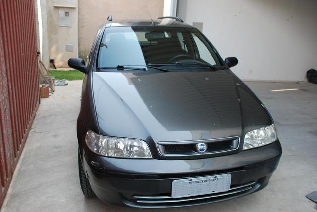 VENDO PALIO WEEKEND ELX 2001 CINZA - COMPLETA MENOS AR -